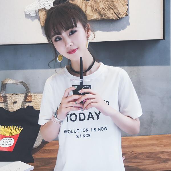 ◆快速出貨◆客製化.最佳情侶裝.純棉MIT.班服【Y0645】短袖-TODAY.艾咪E舖