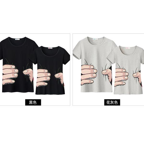 ◆快速出貨◆客製化.最佳情侶裝.純棉MIT.班服【YC274】短袖-哎呀!逃不掉.艾咪E舖
