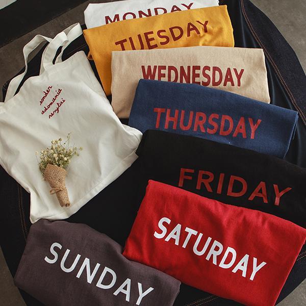 ◆快速出貨◆客製化.最佳情侶裝.純棉MIT.班服【Y0712】短袖-星期短T.艾咪E舖
