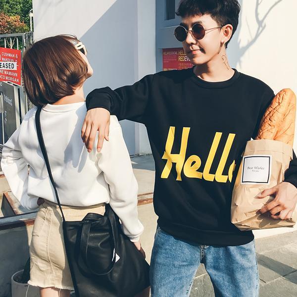 ◆快速出貨◆刷毛T恤 圓領刷毛 連帽T恤 暖暖刷毛 MIT台灣製【YS0717】刷毛-大大Hello.艾咪E舖